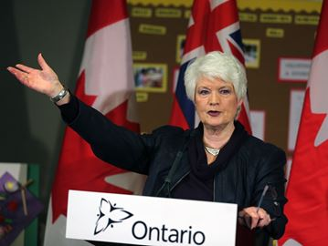 Education Minister Liz Sandals